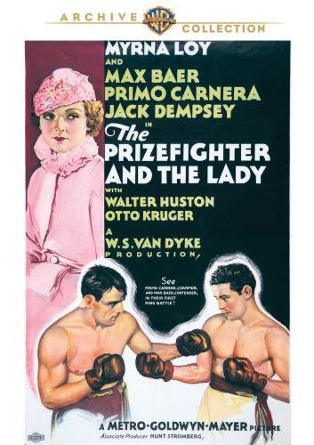 Prizefighter & The Lady Loy Baer Carnera Made On Demand Nr