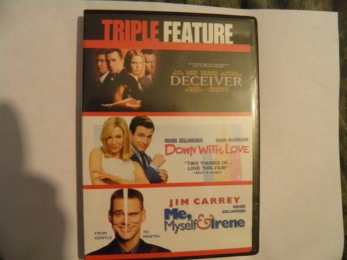 Renee Triple Feature Zellweger Deceiver Down With Love Me Myself & Irene