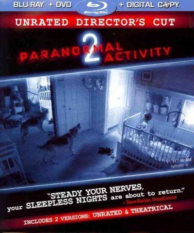 Paranormal Activity 2 Featherston Sioat Boland Ws Blu Ray R Incl. Movie Cash