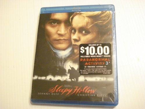 Sleepy Hollow Depp Walken Ricci Blu Ray R