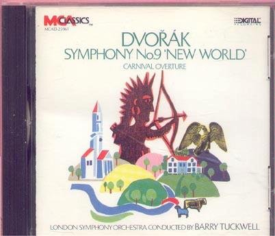 "A. Dvorak Sym 9 ""new World"" Carnival Overt"