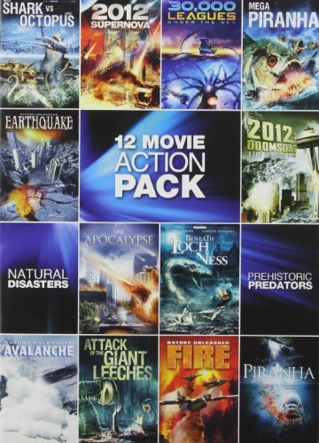 12 Movie Pack Sci Fi Action Pa 12 Movie Pack Sci Fi Action Pa Nr 3 DVD