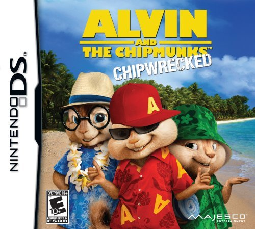 Nintendo Ds Alvin & Chipmunks Chipwrecked