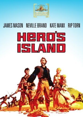 Hero's Island (1962) Mason Manx Brand DVD Mod This Item Is Made On Demand Could Take 2 3 Weeks For Delivery