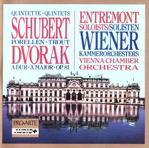 Schubert Dvorak Trout Quintet Quintet For Piano