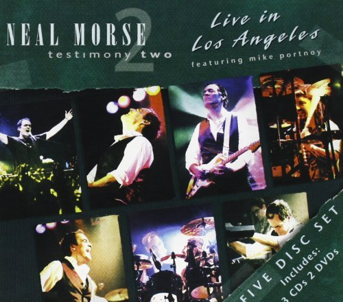 Neal Morse Testimony Two Live In Los Ange 3 CD 2 DVD