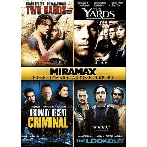 4 Action Films Miramax High Stakes Action Ser Ws R