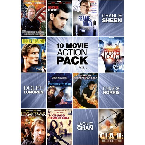 Vol. 2 10 Movie Action Pack Ws Nr 2 DVD