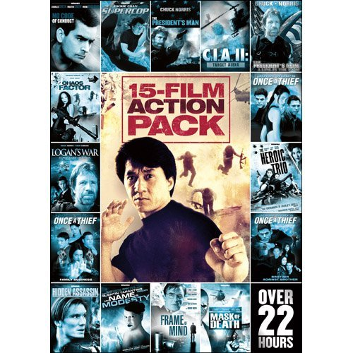 Vol. 1 15 Movie Action Pack Ws Nr 3 DVD