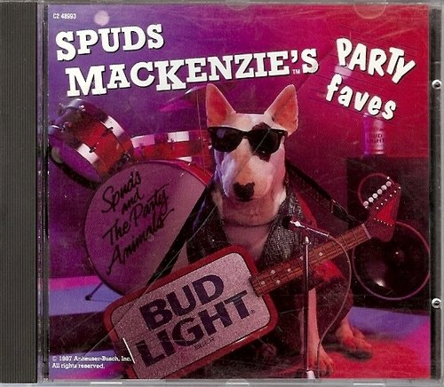 Spuds Mackenzie's Party Faves Spuds Mackenzie's Party Faves