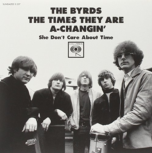 Byrds Times They Are Changin She Don 7 Inch Single