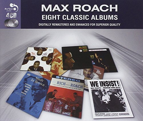 Max Roach Eight Classic Albums Import Gbr 4 CD
