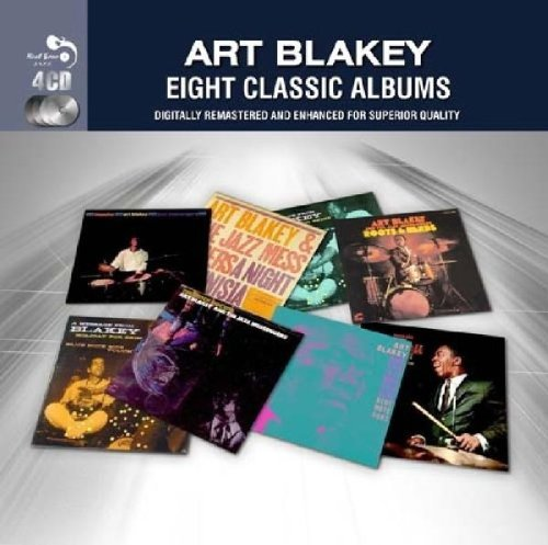 Art Blakey Eight Classic Albums Import Gbr 4 CD