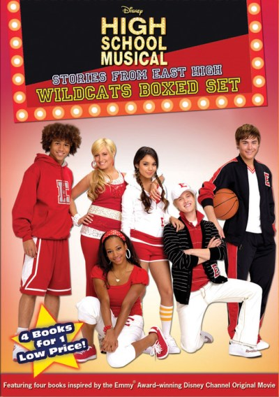 Disney Press High School Musical Wildcats Boxed Set (st