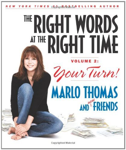 Marlo Thomas The Right Words At The Right Time Vol. 2 Your Turn!