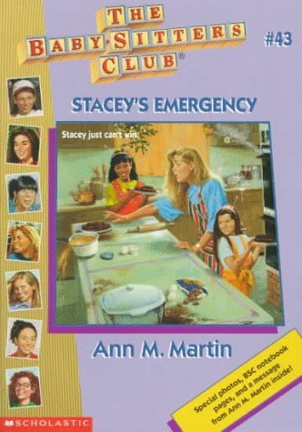 Ann M. Martin Stacey's Emergency The Baby Sitters Club #43