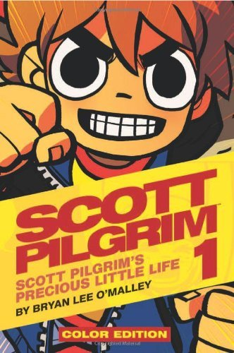 Bryan Lee O'malley Scott Pilgrim Color Hardcover Volume 1 Precious Little Life