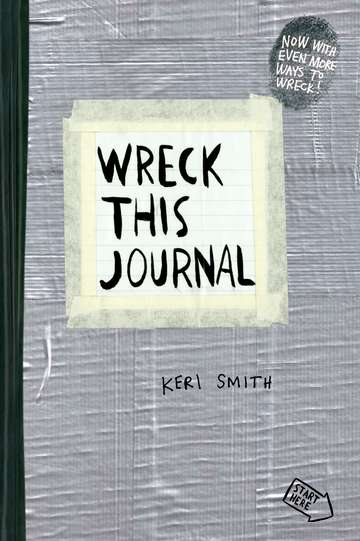 Keri Smith Wreck This Journal (duct Tape) Expanded