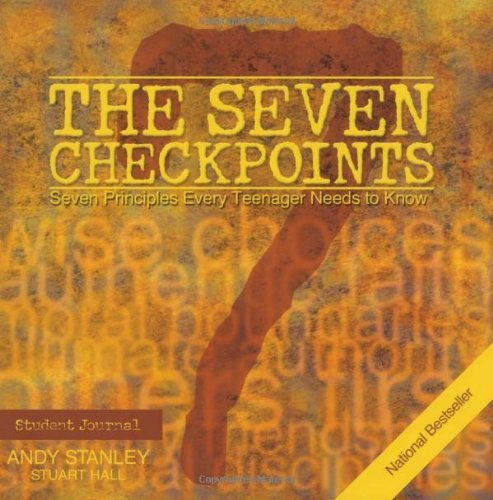 Andy Stanley The Seven Checkpoints Student Journal Original