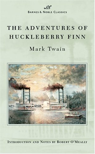 Mark Twain Adventures Of Huckleberry Finn (barnes & Noble Cla