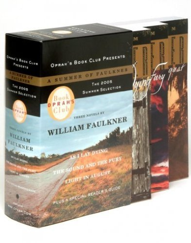William Faulkner Oprah's Book Club 2005 Summer Selection A Summer O As I Lay Dying The Sound And The Fury Light In Au