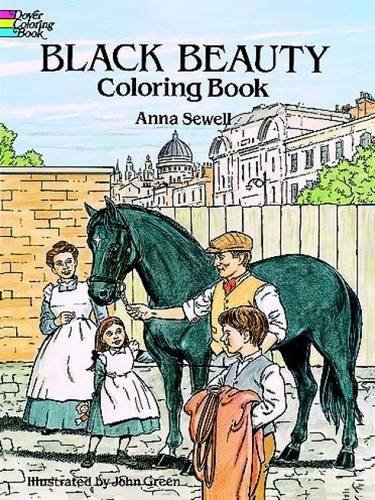 Anna Sewell Black Beauty Coloring Book Abridged