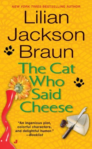 Lilian Jackson Braun The Cat Who Said Cheese