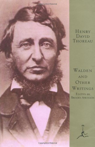 Henry David Thoreau Walden And Other Writings