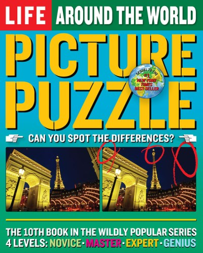 Robert Sullivan Picture Puzzle Around The World