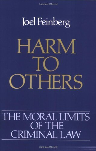 Joel Feinberg Harm To Others