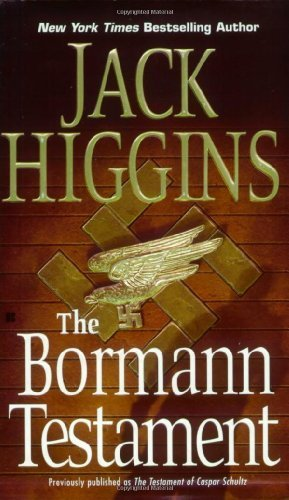 Jack Higgins The Bormann Testament
