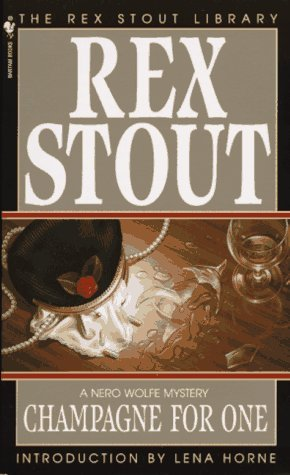 Rex Stout Champagne For One