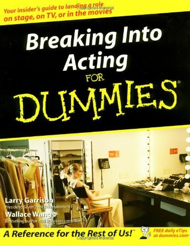 Larry Garrison Breaking Into Acting For Dummies