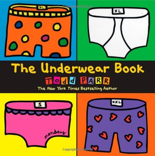 Todd Parr Underwear Book The