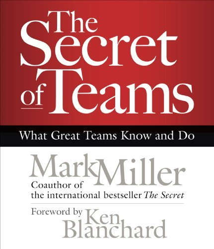 Mark Miller The Secret Of Teams What Great Teams Know And Do