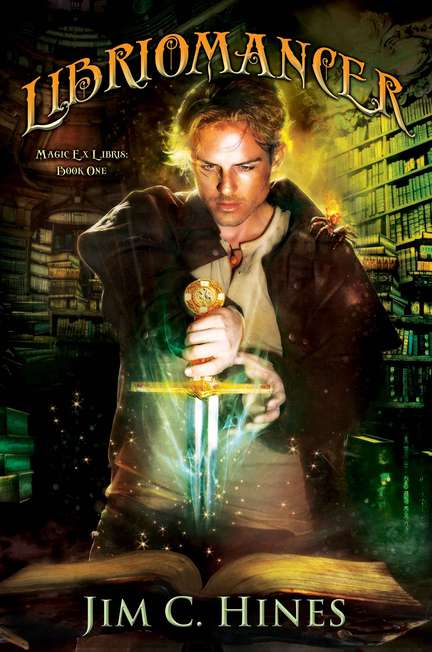 Jim C. Hines Libriomancer Magic Ex Libris Book 1
