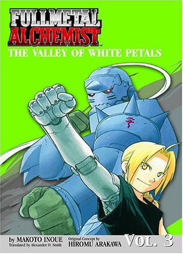Makoto Inoue Fullmetal Alchemist The Valley Of White Petals (novel)