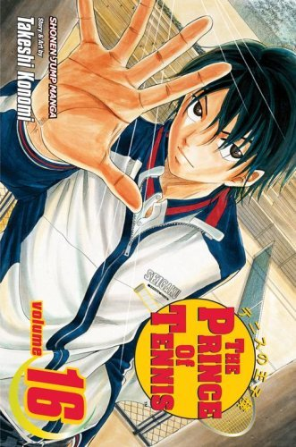 Takeshi Konomi Prince Of Tennis Volume 16