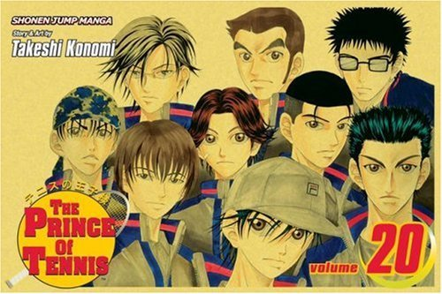 Takeshi Konomi The Prince Of Tennis Volume 20