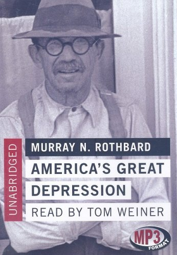 Murray N. Rothbard America's Great Depression Mp3 CD