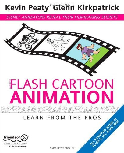 Glenn Kirkpatrick Flash Cartoon Animation Softcover Repri