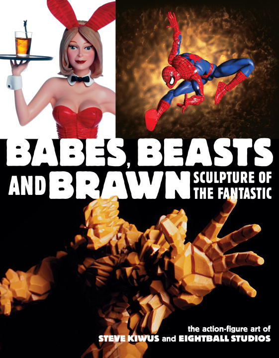 Steve Kiwus Babes Beasts And Brawn Sculpture Of The Fantastic