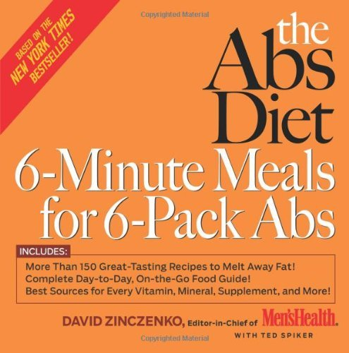 David Zinczenko The Abs Diet 6 Minute Meals For 6 Pack Abs