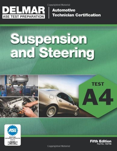 Cengage Suspension And Steering (a4) 0005 Edition;