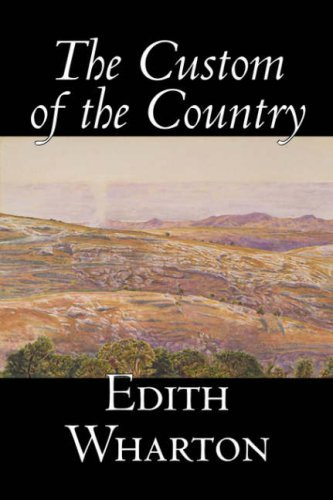 Edith Wharton The Custom Of The Country