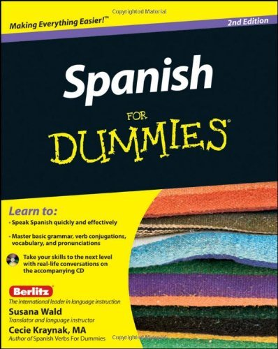 Susana Wald Spanish For Dummies [with CD (audio)] 0002 Edition;