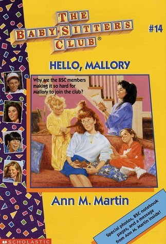 Ann Matthews Martin Hello Mallory (the Baby Sitters Club No. 14)