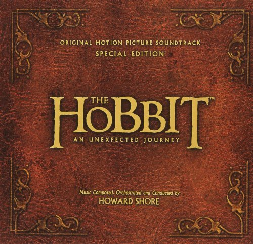 Hobbit An Unexpected Journey Soundtrack (deluxe Ed.) Music By Howard Shore 2 CD Deluxe Ed.