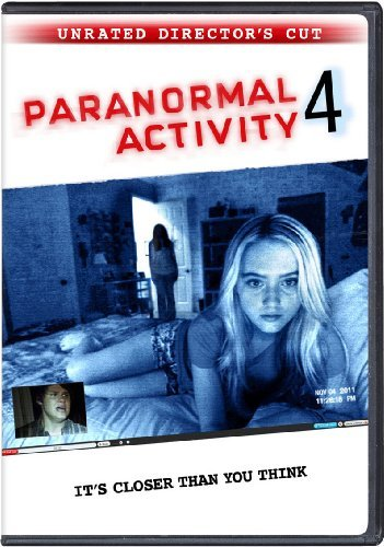 Paranormal Activity 4 Paranormal Activity 4 DVD Director's Cut R Ws