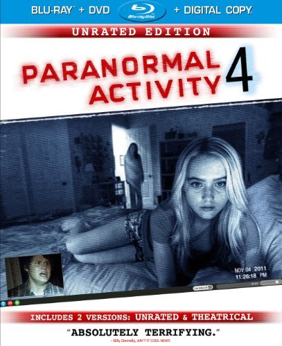 Paranormal Activity 4 Paranormal Activity 4 Blu Ray DVD Dc Director's Cut Ur Ws